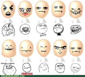 Mii Rage Faces? FFFFFUUUUU-