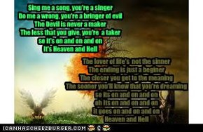Heaven and Hell- Black Sabbath