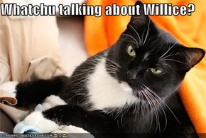 Whatchu talking about Willice?