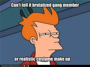 Confusion of bad neighborhood halloween.
