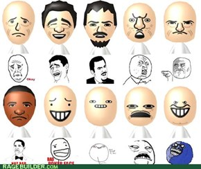More Mii Rage Faces? FFFFFUUUUU-