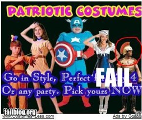 Patriotic Costume Fail