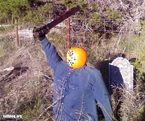 Jason Rises from the Grave.