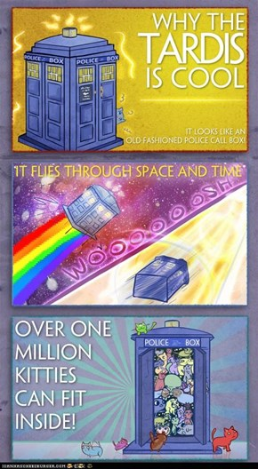 Why the TARDIS Is Cool