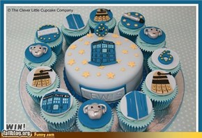 Doctor Who Cake WIN!