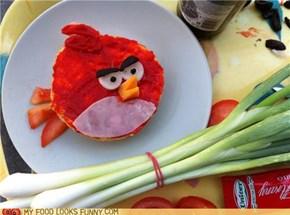 Angry Bird Sandwich
