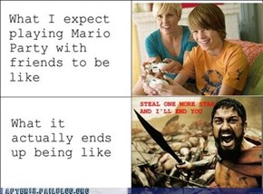 Mario Party's Not For Pansies