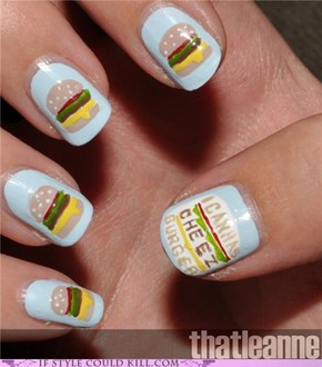 Cheezburger Nails!