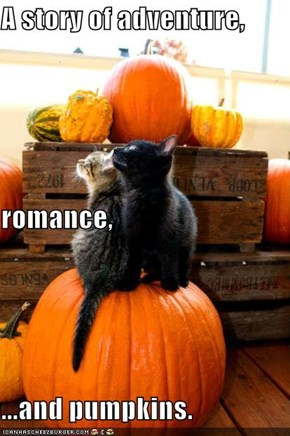 A story of adventure, romance, ...and pumpkins.