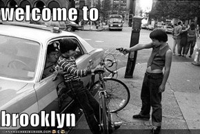 welcome to  brooklyn