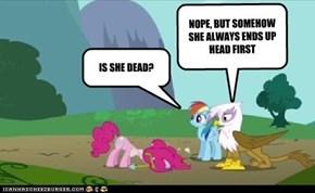 IS SHE DEAD?