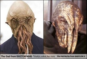 The Ood from DOCTOR WHO Totally Looks Like The Pak'Ma'Ra from BABYLON 5
