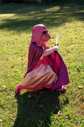 Princess Darth Vader of the Day