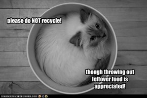 please do NOT recycle!