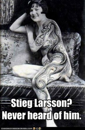 "The Original ""Girl With A Dragon Tattoo"""
