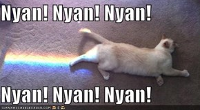 Nyan! Nyan! Nyan!  Nyan! Nyan! Nyan!