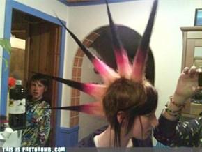 Dat hair.