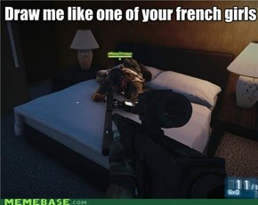 Draw Me Like One of Your French Soldiers