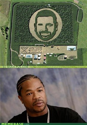 Yo Dawg, I Heard You Like Billy Mays' Maize Maze