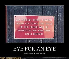 EYE FOR AN EYE