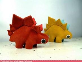 Plush Stegosaurus