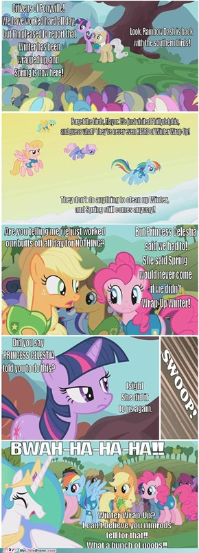 Princess Trollestia: Her Many Ploys