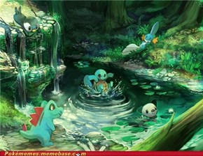 Water Starters: So Cool