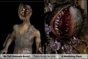 Mr.Tall (Amnesia Brute) Totally Looks Like A ManEating Plant