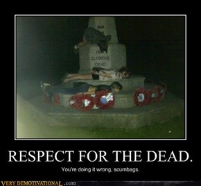 RESPECT FOR THE DEAD.