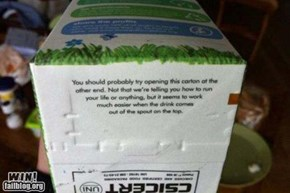 Milk Carton WIN