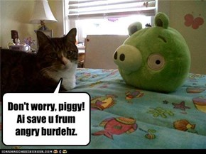 Don't worry piggy
