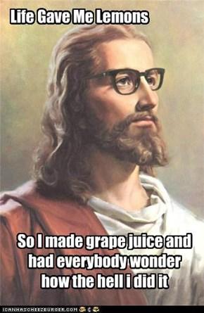 LOL Jesus: Stop Whining!