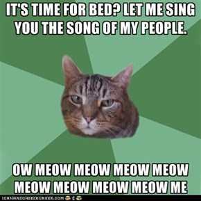 MemeCats: Not Really a Very Catchy Tune