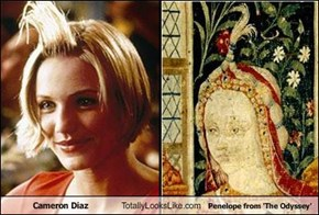 Cameron Diaz Totally Looks Like Penelope from 'The Odyssey'