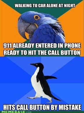 Socially Paranoid Penguin