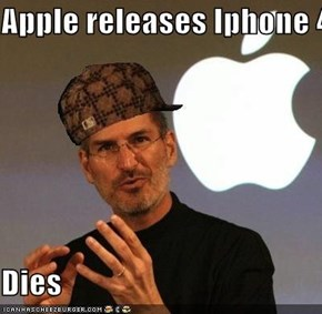 Apple releases Iphone 4s   Dies