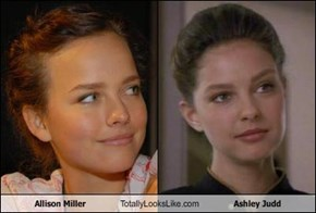 Allison Miller Totally Looks Like Ashley Judd