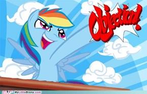 Rainbow Dash: Mare Attorney