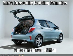Yaris, Forcefully Evolving Primates