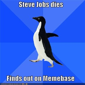 Steve Jobs dies  Finds out on Memebase