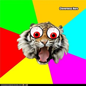 freaked out tiger