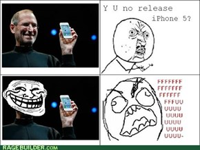 There is no iPhone 5!
