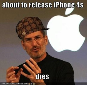 about to release iPhone 4s  dies