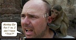 Monkey Ear Pox ?  no, I don't have *THAT*
