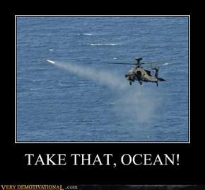 TAKE THAT, OCEAN!