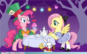 Fluttershy In Wonderland