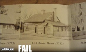 Historic House Name FAIL