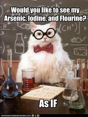 Chem Cats: Too Cool for School