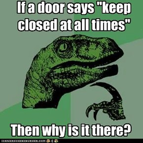 Philosoraptor: For Opposite Day