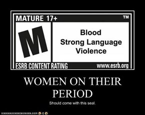 WOMEN ON THEIR PERIOD